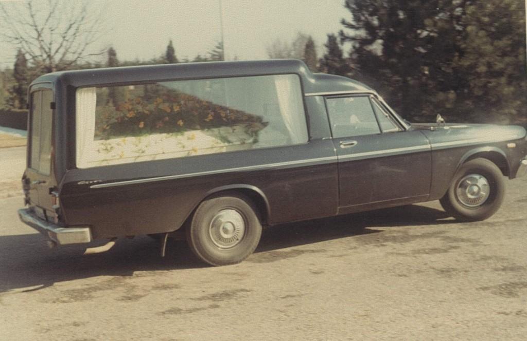 Ejnars begravelse 1969