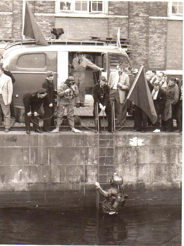 Ejnar`s familie 007 Københavns Brandvæsen Dykkerskole 1949 2